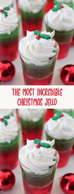 THE MOST INCREDIBLE CHRISTMAS JELLO