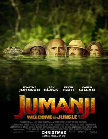 Jumanji Welcome to the Jungle 2017 Hindi Dual Audio HDCAM Full Movie