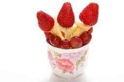 идеи букетов из фруктов