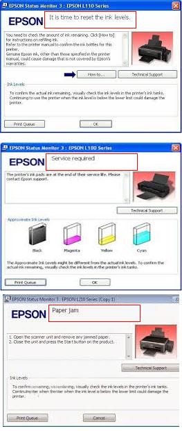 Epson L210 Reset Ink Level : epson, reset, level, Mengatasi, Printer, Epson, Blinking, Terbaru