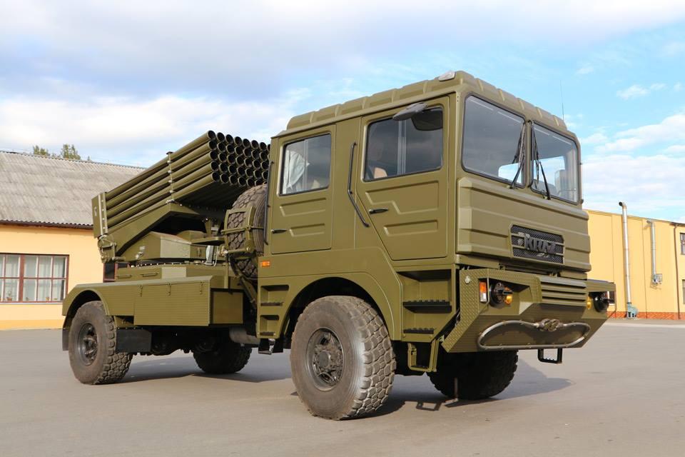 БМ-21УМ Берест