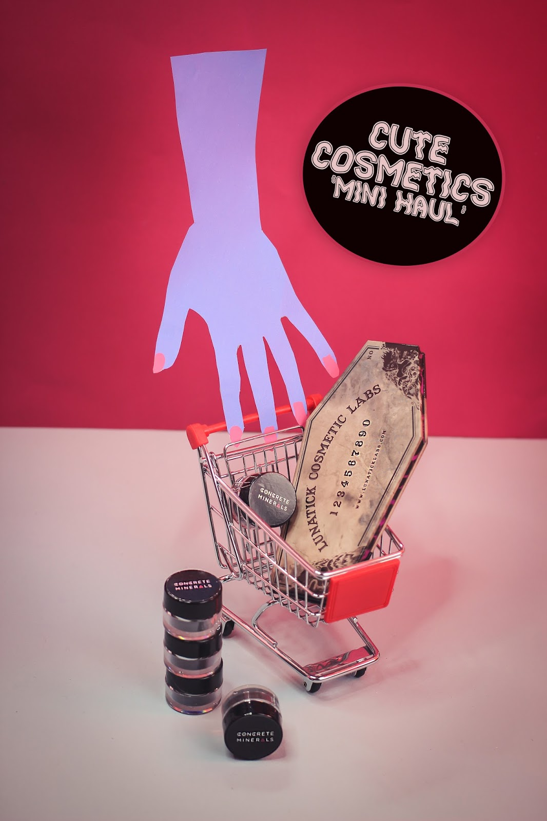 Cute Cosmetics Mini Haul: Lunatick Cosmetics & Concrete Minerals  - The Goodowl UK Blogger