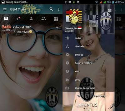 Download BBM Juventus v3.0.1.25 APK