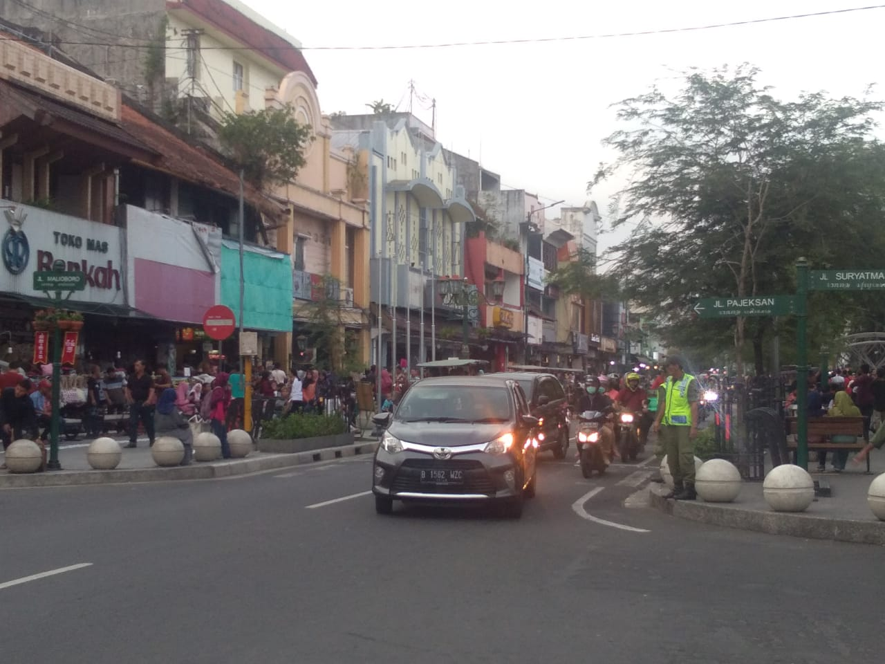 Traders complained about the Malioboro trial without motorized vehicles