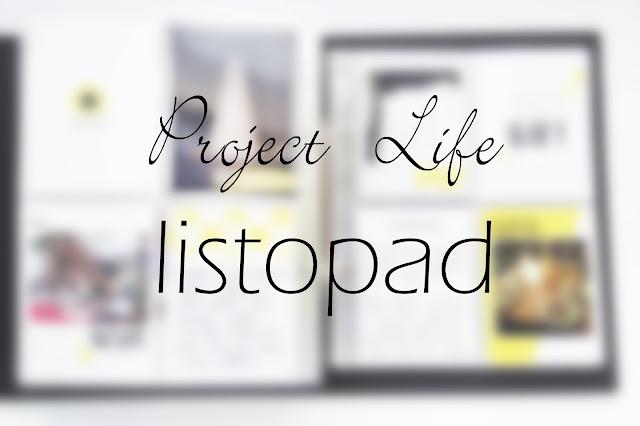 Project Life w listopadzie