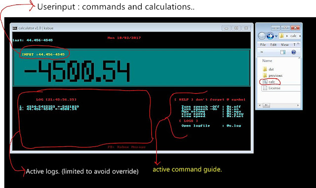Make Awesome Calc with Notepad   Awesome Calc v.1.0 By Kabue
