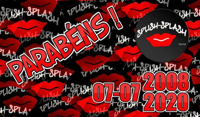 12.º Aniversário do luso-brasileiro Portal Splish Splash
