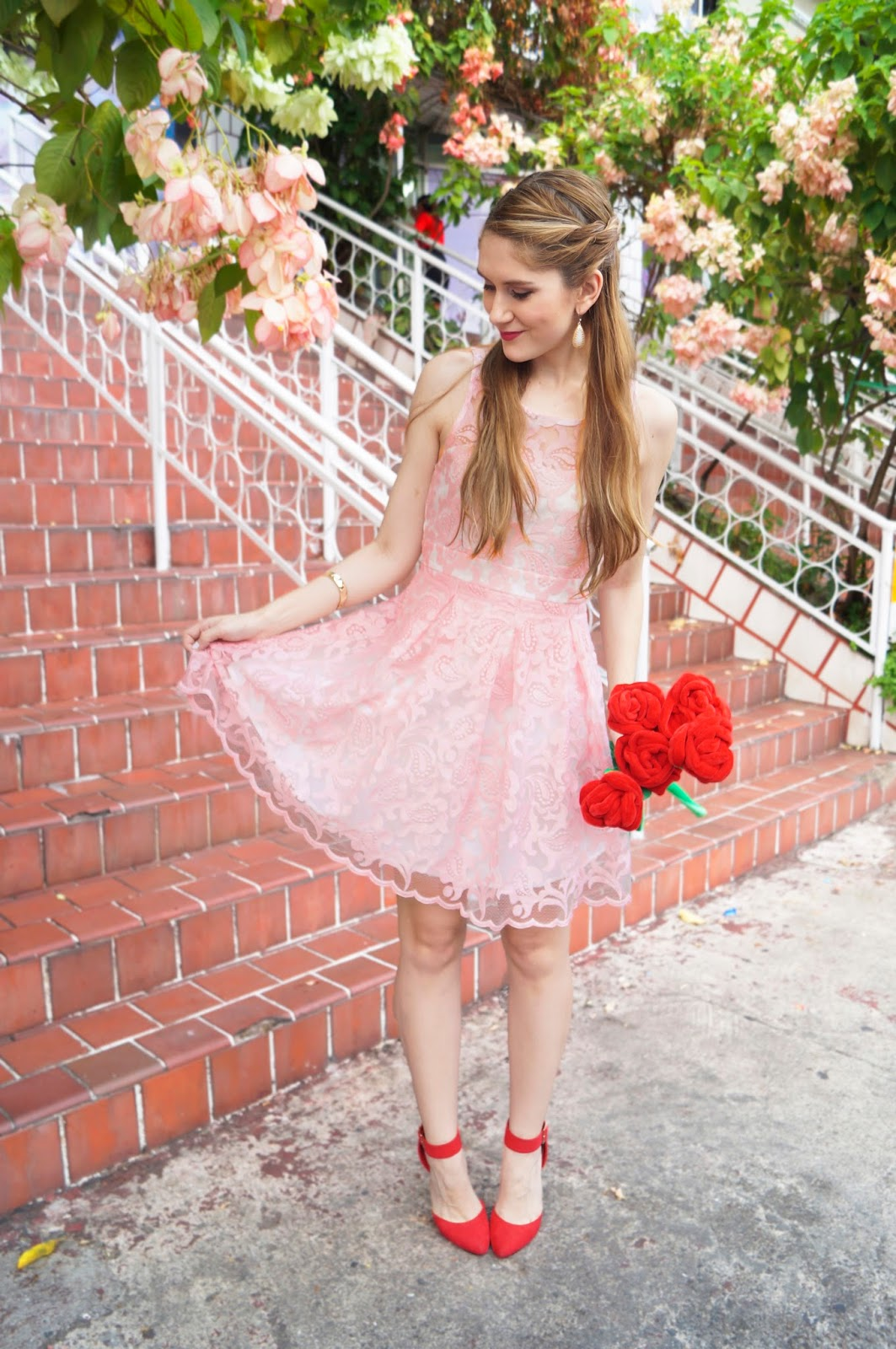 Cute and Easy Valentines Day Outfit