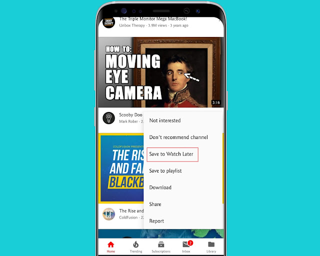 Add Videos To Watch Later - YouTube Features, Tips And Tricks