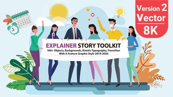 Videohive Story Maker Explainer Toolkit V2 25220783