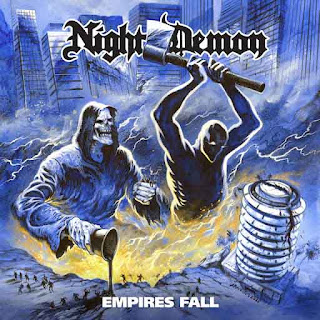 "Το single των Night Demon ""Empires Fall"""
