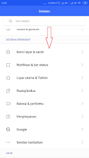 cara mengatur waktu tidur layar Xiaomi,