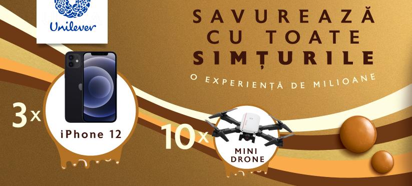 Concurs Inghetata Magnum - Castiga 3 iPhone 12 sau 10 mini drone - castiga.net