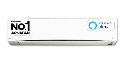 Panasonic 1.5 Ton 5 Star Wi-Fi Twin Cool Inverter Split AC (Copper, PM 2.5 Filter)
