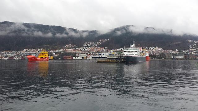 Fred Olsen cruise ship Braemar; Fjord Cruise; Bergen; Norway