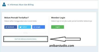 Cara mudah dan lengkap membeli domain TLD di rumahweb - TERBARU | anibarstudio.com