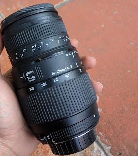 Lensa Sigma 70-300mm DG Macro For Nikon