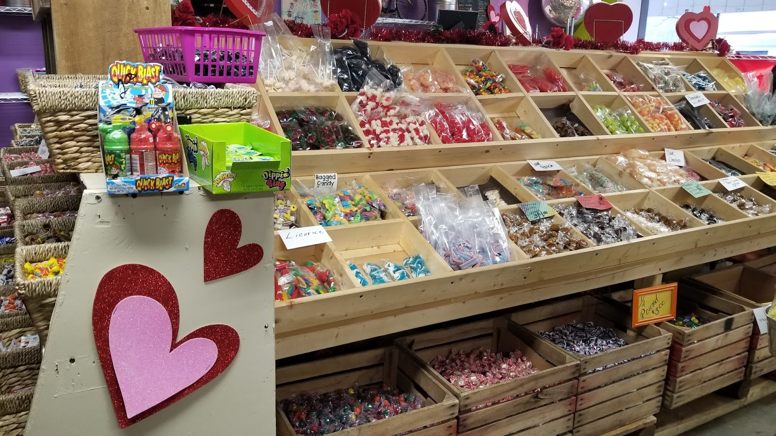 Valley Girl Views: Incredible Popcorn (Candy Store) In