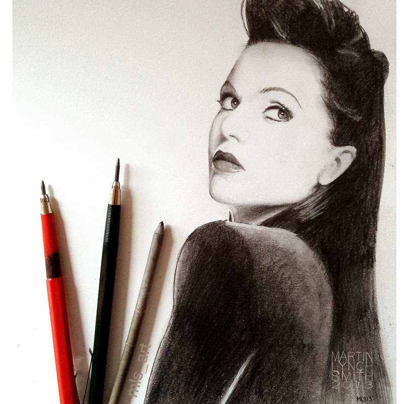 23-Lana-Parrilla-Martin-Lynch-Smith-MLS-art-Celebrity-Drawings-www-designstack-co