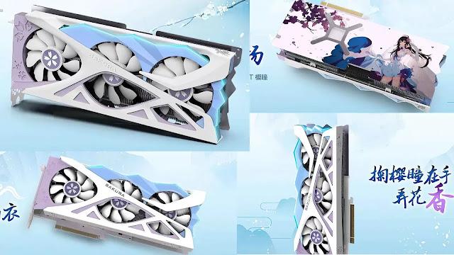 Yeston-Radeon-RX-6800-XT-Sakura-Edition-Top-Bottom-Back-Side-Front-Views