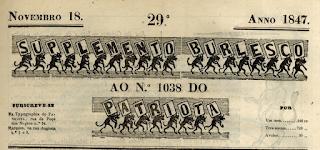 Suplemento Burlesco - Cecilia Maria Pinta Monos - Luís Augusto Palmeirim - Manoel de Jesus Coelho