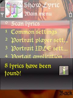 show the lyric in original music Player | Game dan Aplikasi Hp