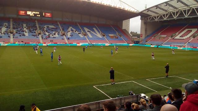 Wigan Athletic vs. Burnley pre-season friendly 2019