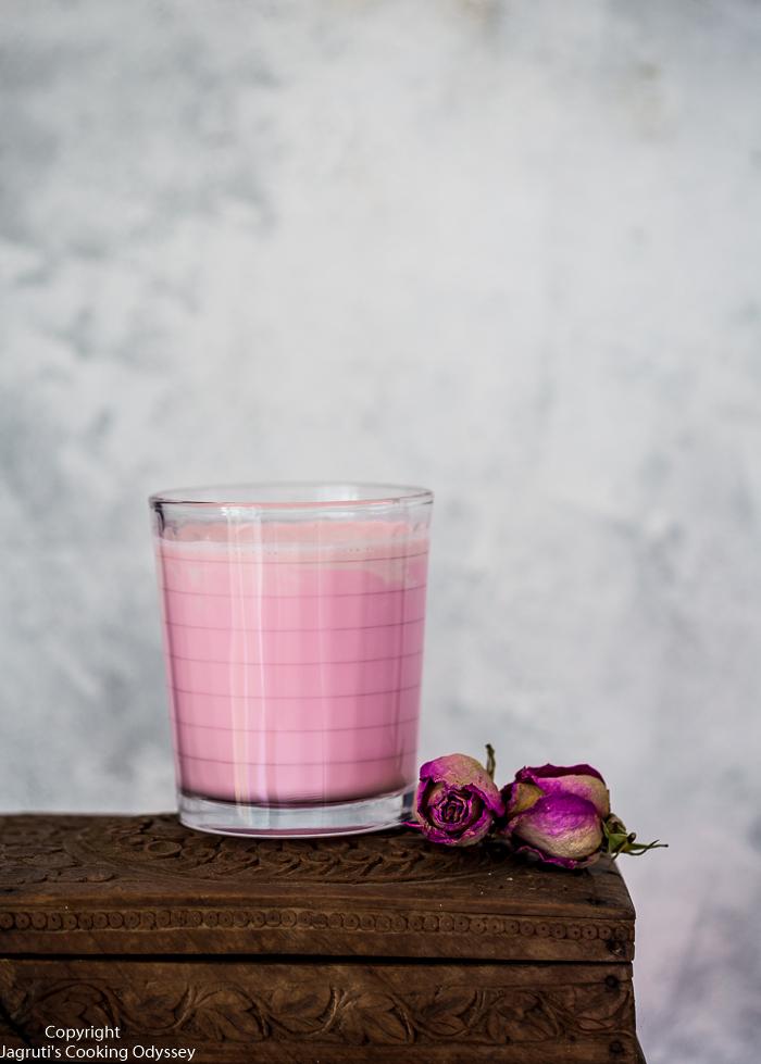 image of rose drink