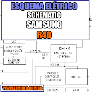 squema Elétrico Notebook Samsung NP R40 HAINAN3 SRE Laptop Manual de Serviço  Service Manual schematic Diagram Notebook Samsung NP R40 Laptop   Esquematico Notebook Placa Mãe Samsung NP R40 Lapto