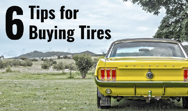 6 Tips For Buying Tyres #infographic