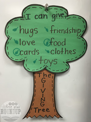 http://www.thefirstgraderoundup.com/2015/12/life-lessons-giving-tree.html