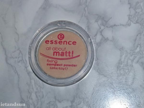 Essence, All About Matt!, puder matujący w kompakcie