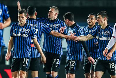 فوز اتالانتا على نادي كروتوني بخمسة أهداف مقابل هدف وحيد فى الدوري الإيطالي لكرة القدم