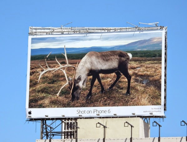 Shot on iPhone 6 stag billboard