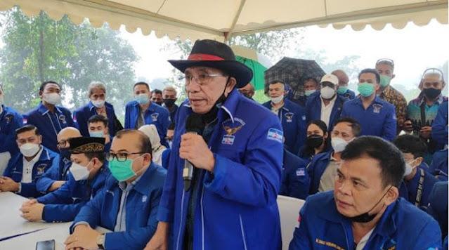 Keras! Kubu Moeldoko: Yan Harahap dan Jansen Sitindaon Otaknya di Dengkul
