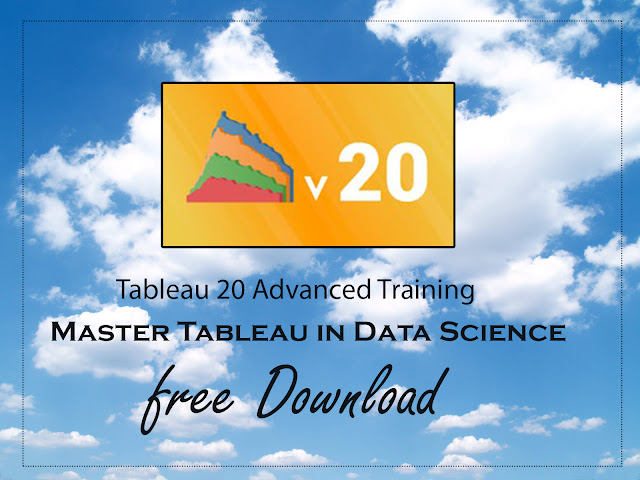 Tableau 20 Advanced Training: Master Tableau in Data Science