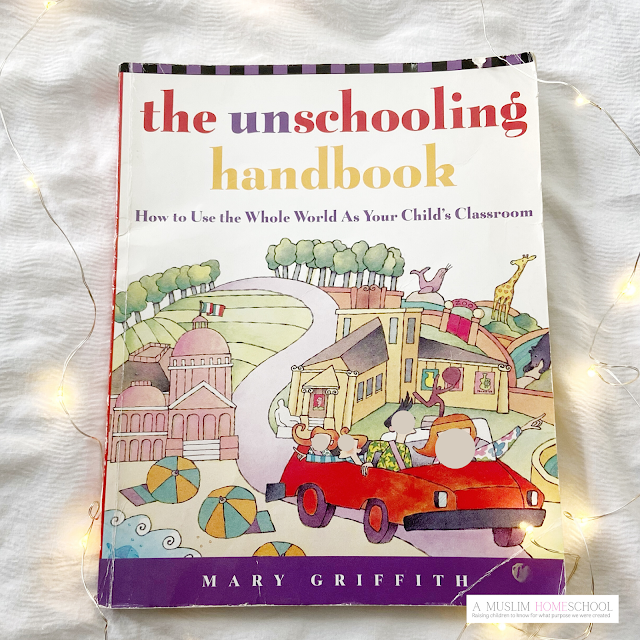 The Unschoolers Handbook - homeschool book recommendation