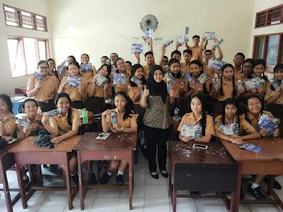 Kunjungan SMK TI Bali Global Denpasar ke SMP Negeri 5 Denpasar