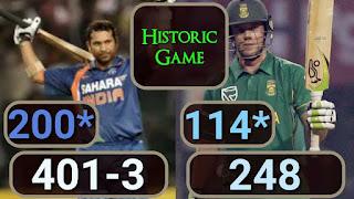 Sachin Tendulkar 200* - India vs South Africa 2nd ODI 2010 Highlights