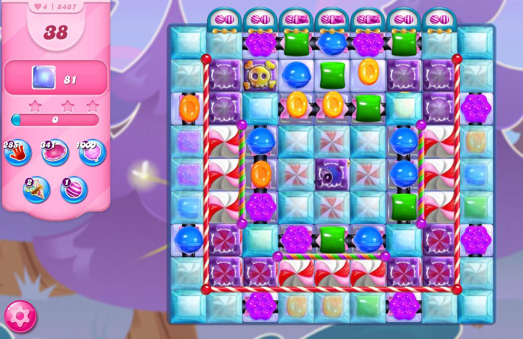 Candy Crush Saga level 8487
