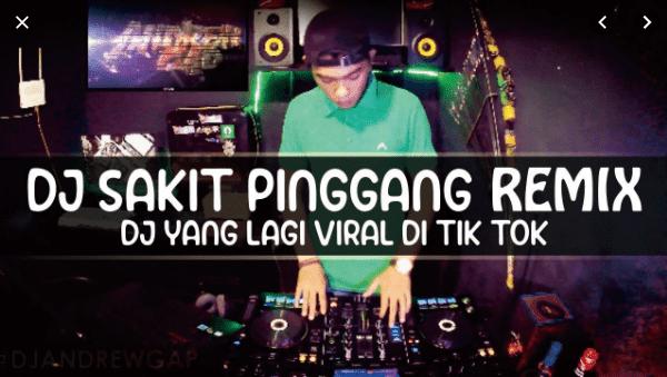 Not Angka Pianika DJ Sakit Pinggang