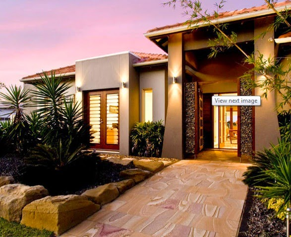 Fachadas de casas modernas de un solo piso fachadas de for Fotos de casas modernas con tejas