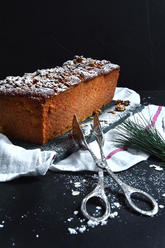 Rezept weihnachtlicher Apfelkuchen