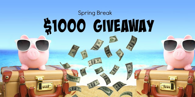 Spring Is In The Air And So Is A $1000 Cash Giveaway! by Barbies beauty bits