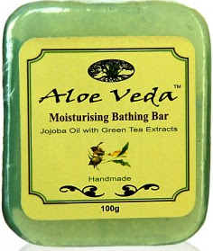 Aloe Veda Jojoba Oil with Green Tea Extracts Soap Review