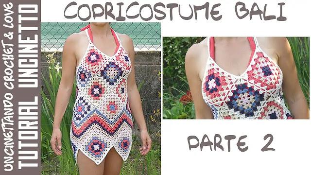 Vestido de Playa a Crochet