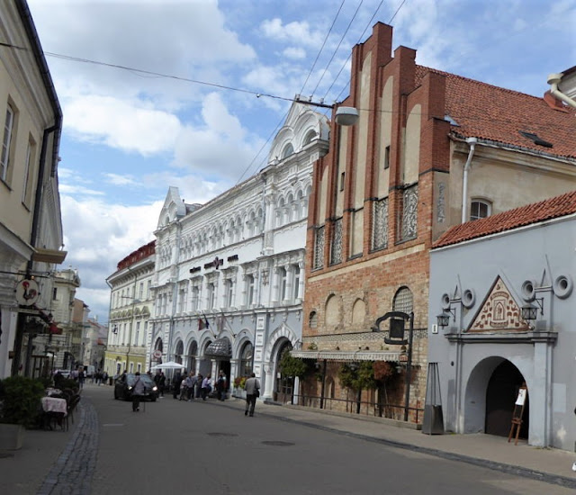 centro storico vilnius