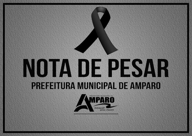 Prefeitura de Amparo emite Nota de Pesar Pelo Falecimento do Senhor Damião de Janoca