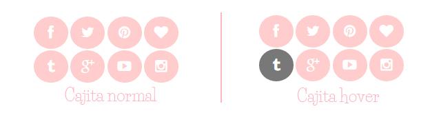 Crear icons sociales con font awesome y códigos CSS, se ve muy cute en tu blog y es muy fácil de hacer no hace falta que seas un experto en Css, estilo 2