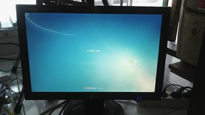 jual monitor lg flatron L177WSB